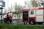 Desinfekce obce - Hasiči Lázně Bohdaneč 17. 4. 2020